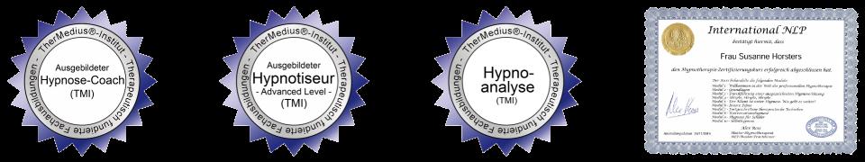 Zertifikate TMI und NLP